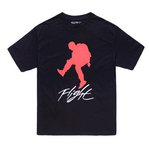 FNTY Kanye Flight T-Shirt  (BLACK)