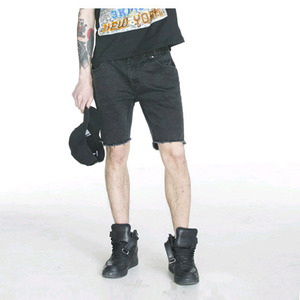 FNTY DAMAGE SHORTS (BLACK)