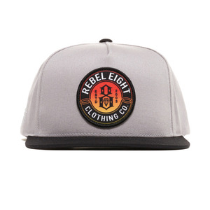 REBEL 8 SUN BURNT SNAPBACK
