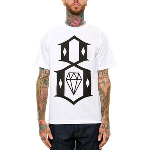 REBEL 8 LOGO TEE