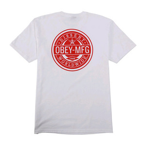 OBEY WORLDWIDE DISSENT (WHITE)