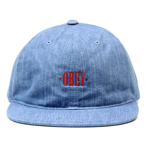 OBEY ALTANTA HAT (DENIM)