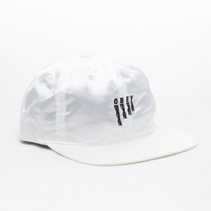 OBEY HEELS HAT (WHITE)