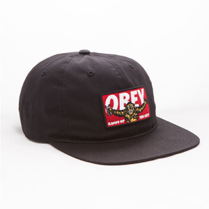 OBEY KINGS OF THE CITY HAT (BLACK)