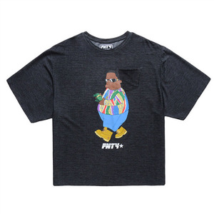 FNTY Feel Like Biggie Oversized T-shirt (BLACK)