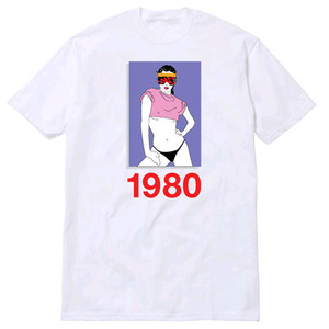 CLSC 80's T-SHIRT (White)