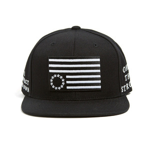 BLACK SCALE Protect Rebels Snapback Black