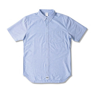 CROOKS & CASTLES  Woven S/S Shirt - Good Fella (Lt. Blue)