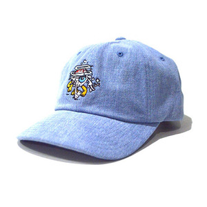 MISHKA Ermsy Keep Watch Denim Golf Hat (Denim)