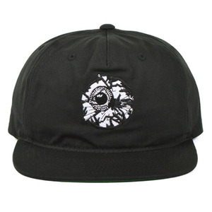 MISHKA Damaged Keep Watch Snapback (Black)