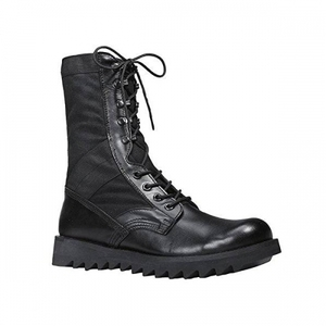 ROTHCO BLACK RIPPLE SOLE JUNGLE BOOTS (BLACK)
