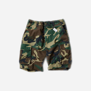 ROTHCO VINTAGE PARATROOPER CARGO SHORTS (WOODLAND CAMO)