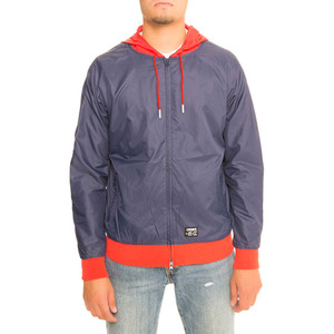 CROOKS & CASTLES Mens Woven Track Jacket - Reign (Navy)