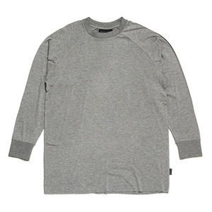 BLACK SCALE ESSENTIAL LONG SLEEVE TEE (ALMOND)