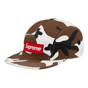 SUPREME Camo Camp Cap