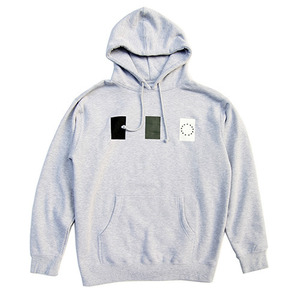 [QUICK STRIKE] BLACK SCALE LANDSCAPE PULLOVER (GREY)