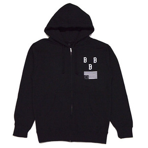[QUICK STRIKE] BLACK SCALE DISRUPTION ZIP UP HOODIE (BLACK)