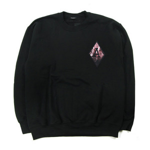 [QUICK STRIKE] BLACK SCALE BLVCK REBELS CREW NECK (BLACK)