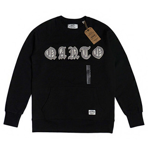 QANTO DE LOCOS QANTO PATCH_CREWNECK_BLACK