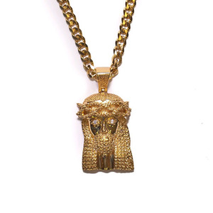 Design By TSS XL JESUS PIECE (NO STONES) NECKLACE