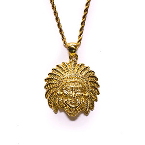 Design By TSS APACHE INDIAN Necklace (GOLD)