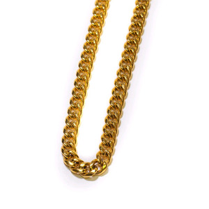 Design By TSS CUBAN LINK NECKLACE (GOLD)