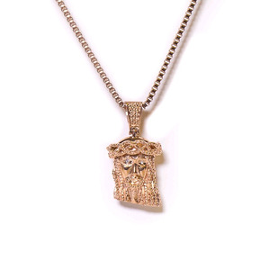 Design By TSS MINI JESUS NECKLACE -  ROSE