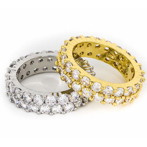 Design By TSS ETERNITY RING (GOLD,SILVER)