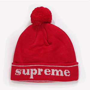 SUPREME CUFF LOGO BEANIE (RE)