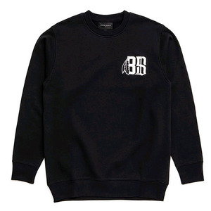 BLACK SCALE BoneFeather Crewneck  (BLACK)