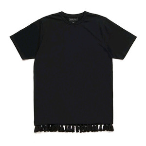 BLACK SCALE Tassels Tee (BLACK)