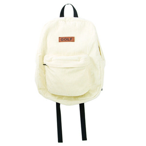 GOLF WANG GOLF CORDUROY BACKPACK CREAM