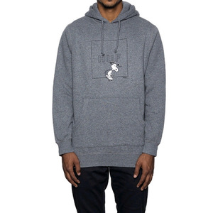 HUF SNOOPY BOX LOGO HOOD (GREY)