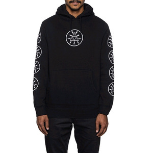 HUF VOLTAGE PULLOVER HOOD (BLACK)