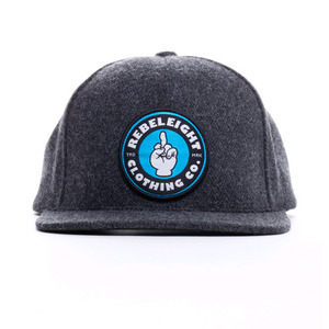 REBEL8 BEAT IT SNAPBACK (GREY)