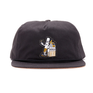 REBEL8 DIE SLOW SNAPBACK (BLACK)