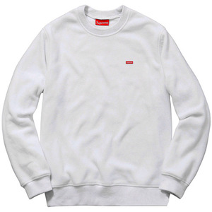 SUPREME POLARTEC FLEECE CREWNECK (WHITE)
