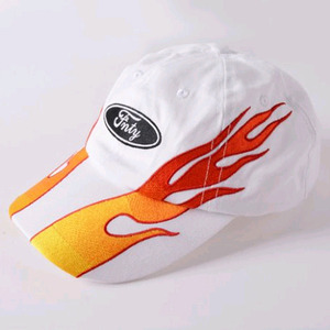 FLYING NINETY FNTY Real Blaze Snapback (WHITE)