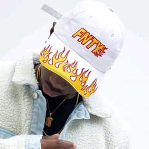 FLYING NINETY FNTY Fire on Snapback (WHITE)