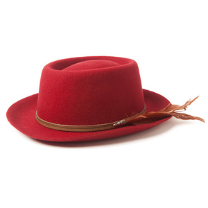 ORIGINAL CHUCK ROCKO FEDORA (Red)