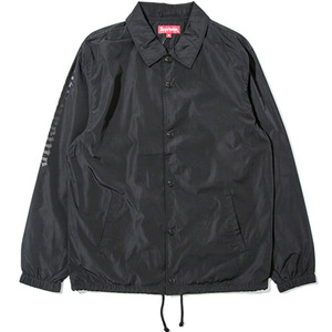 SUPREME x SLAYER Cutter Coaches Jacket (BLACK)