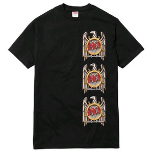 SUPREME x SLAYER Eagle Tee (BLACK)