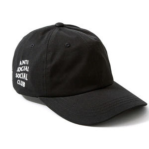 ANTI SOCIAL SOCIAL CLUB WEIRD CAP (BLACK)