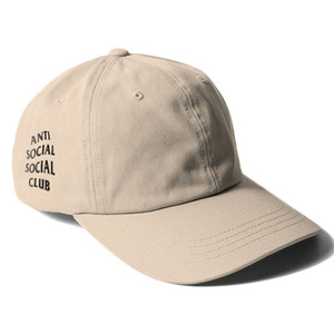 ANTI SOCIAL SOCIAL CLUB WEIRD CAP (KHAKI)