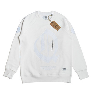 QANTO DE LOCOS Q PATCH_CREWNECK_WHITE