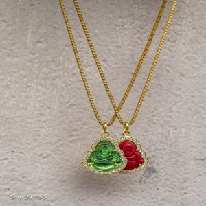 Design By TSS BUDDHA PIECE (RED,Emerald)