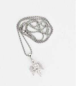 Design By TSS ANGEL Necklace (SILVER)