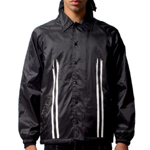 FRESH I AM ROAD COACH JACKET (BLACK)