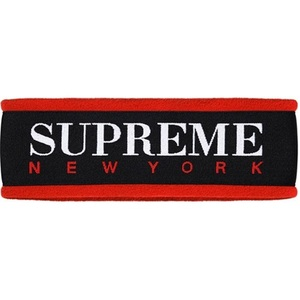supreme Fleece Headband (BLACK)