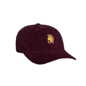 HUF JIMMY CURVE VISOR 6PANEL (WINE)